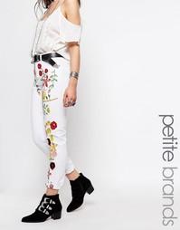 Джинсы с вышивкой Glamorous Petite - Мульти