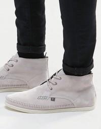 Высокие ботинки чукка Farah Drape - Серый