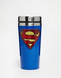 Дорожная фляжка с дизайном Супермэн - Мульти Gifts