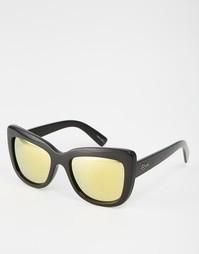 Массивные солнцезащитные очки кошачий глаз Quay Australia