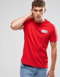 Красная футболка с логотипом New Balance EMT61743 - Красный