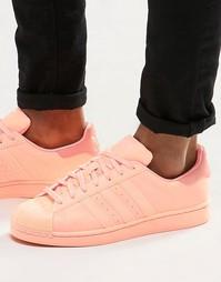 Оранжевые кроссовки adidas Originals Superstar adicolor S80330