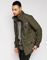 Полевая куртка милитари цвета хаки Diesel J-Rico - Хаки