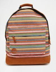 Рюкзак с полосками Mi-Pac Peruvian - Оранжевый