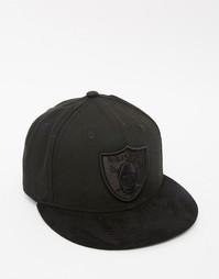 Кепка New Era 59Fifty Oakland Raiders Poly Tone - Черный