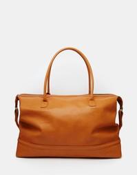 Светло-коричневая сумка из искусственной кожи ASOS - Рыжий