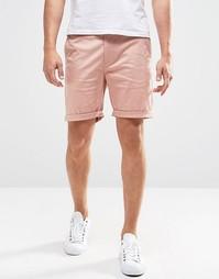 Розовые узкие шорты чиносы ASOS