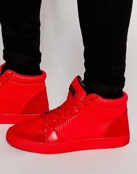 Высокие кроссовки Criminal Damage Rocky - Красный