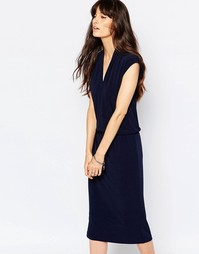 Синее платье-футляр Just Female Success - Синий