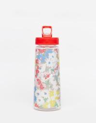 Бутылка для воды с цветочным принтом Cath Kidston - Белый