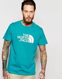 Футболка с логотипом The North Face Easy - Сине-зеленый