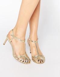 Туфли на каблуке с ремешками ASOS STARLET - Золотой