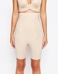 Моделирующие шорты с завышенной талией Spanx Thinstincts - Soft nude