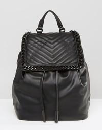 Рюкзак с шевронным дизайном и цепочкой ALDO - Черный