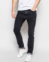 Черные выбеленные зауженные джинсы стретч Levi's 510 Funny Name Levi's®