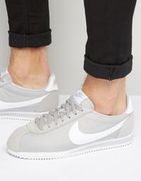 Нейлоновые кроссовки Nike Classic Cortez 807472-010 - Серый