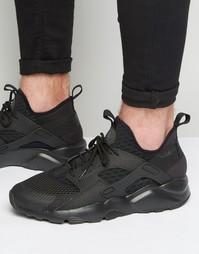 Кроссовки Nike Air Huarache Run Ultra Br 833147-001 - Черный