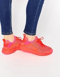 Темно-красные дышащие кроссовки для бега Nike Air Huarache - Crimson