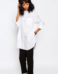 Oversize-рубашка Monki - Белый