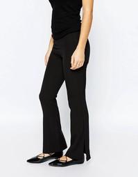 Расклешенные брюки Vero Moda Petite - Черный