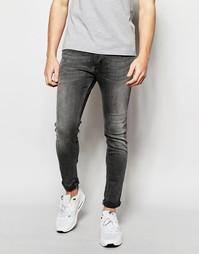 Суперэластичные джинсы скинни Jack & Jones - Серый