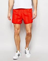 Шорты в стиле ретро adidas Originals AJ6934 - Красный