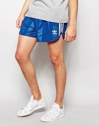 Шорты в стиле ретро adidas Originals AJ6933 - Синий