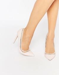 Туфли на высоком каблуке с острым носом ASOS PHRASE - Розовый