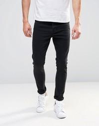 Черные супероблегающие джинсы ASOS - Черный