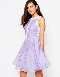 Платье для выпускного из органзы Lashes Of London Lila - Фиолетовый
