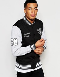 Куртка в студенческом стиле Majestic Raiders - Черный