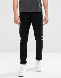 Черные зауженные джинсы Brave Soul - Черный