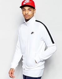 Белая спортивная куртка Nike Tribute 678626-100 - Белый