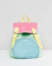 Разноцветный рюкзак в пастельных тонах UNIF Bop