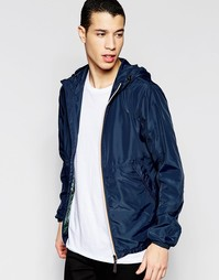 Легкая куртка с капюшоном Jack & Jones - Темно-синий