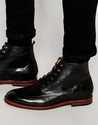 Ботинки-броги Hudson London Harland - Черный