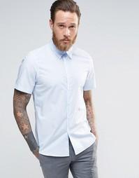 Рубашка зауженного кроя PS Paul Smith - Sky