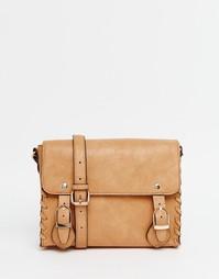 Маленькая сумка‑сэтчел ASOS - Рыжий