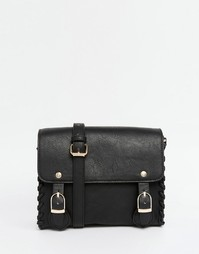 Маленькая сумка‑сэтчел ASOS - Черный