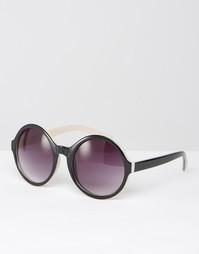 Большие солнцезащитные очки Missguided - Коричневый
