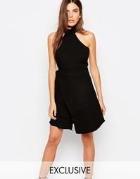 Черное платье эксклюзивно для Finders Keepers Lay It Down - Черный