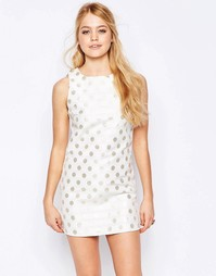 Цельнокройное платье с принтом без рукавов Glamorous