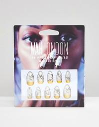 Накладные ногти WAH London - Marblezone - Marblezone