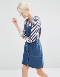 Джинсовое платье Monki - Синий