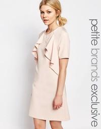 Цельнокройное платье с короткими рукавами Alter Petite - Blush