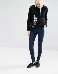 Супероблегающие джинсы с необработанными краями Cheap Monday