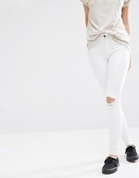 Рваные супероблегающие джинсы с классической талией Dr Denim Lexy