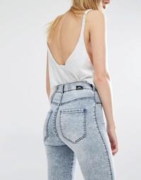 Супероблегающие джинсы с завышенной талией Dr Denim Solitaire