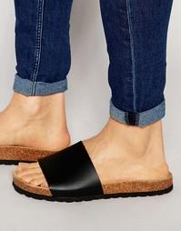 Черные сандалии ASOS