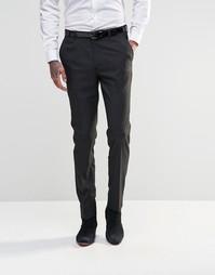 Черные зауженные брюки ASOS - Черный